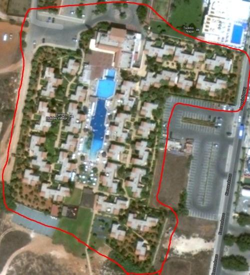 Panthea Satellite Image